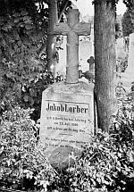 Náhrobek na hřbitově sv. Leonharda v Grazu